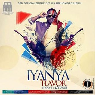 Flavor (Iyanya song) - Image: Official Cover for Iyanya's Flavour single