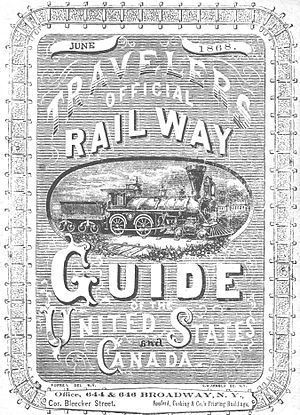 Official Guide of the Railways - First edition, June 1868