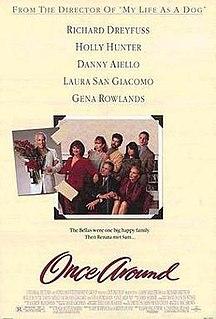 <i>Once Around</i> 1991 film by Lasse Hallström