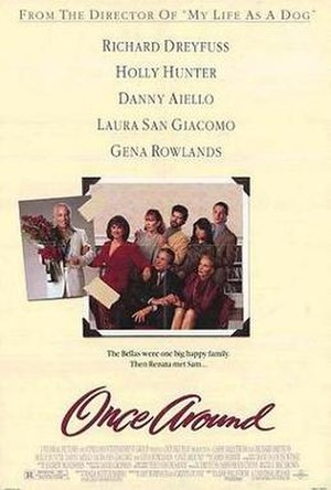 Once Around - Theatrical release poster