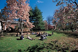 Drew University - A class session held outdoors