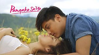 <i>Pangako Sa Yo</i> (2015 TV series) Philippine romantic melodrama television series
