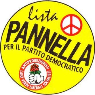 Pannella List - Image: Pannella