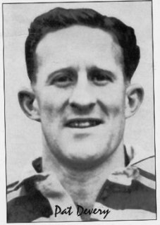 Pat Devery Australian rugby league footballer and coach