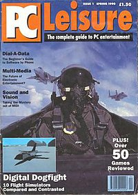 Cover of PC Leisure issue 1 Spring 1990