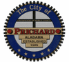Official seal of Prichard, Alabama
