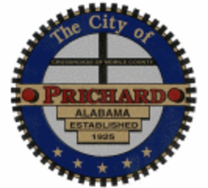 Prichard, Alabama - Image: Pc seal