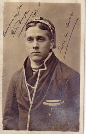 Peter Burge (rugby) - Image: Peter Burge 1908