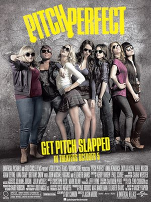 Pitch Perfect - Theatrical release poster