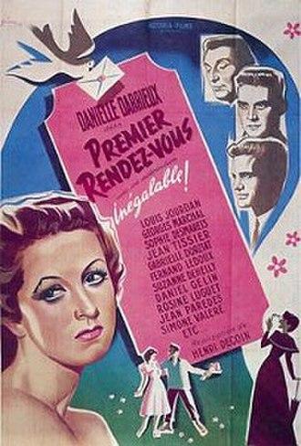 Premier rendez-vous - Image: Premier rendez vous 1941