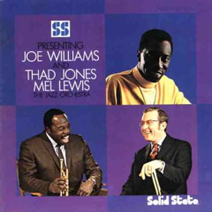 Presenting Joe Williams and Thad Jones/Mel Lewis, the Jazz Orchestra - Image: Presenting Joe Williams Thad Jones Mel Lewis