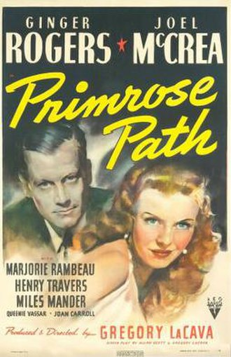Primrose Path (film) - Image: Primrose Path Poster