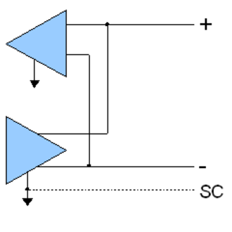 RS-485 - RS-485 3 wire connection