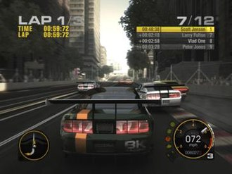 Race Driver: Grid - GRID features several different types of motorsports spanning three major regions.