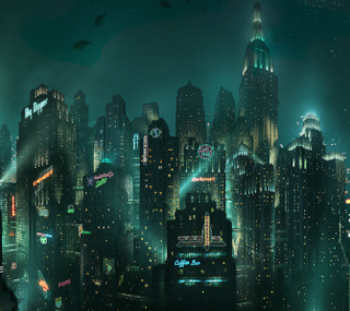 Rapture (<i>BioShock</i>) underwater city that is the setting for the games BioShock and BioShock 2, and briefly appears in BioShock Infinite