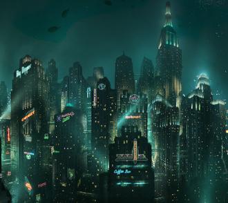 Rapture (BioShock) - Screenshot from the 2007 video game BioShock