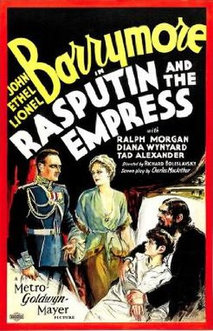 Rasputin and the Empress - Theatrical release poster