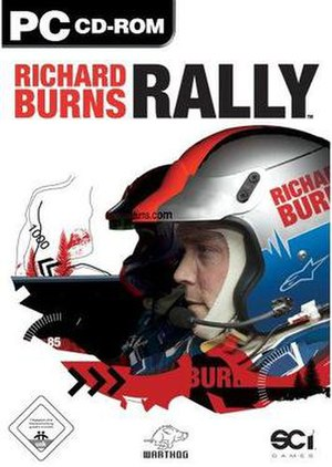 Richard Burns Rally - Cover art