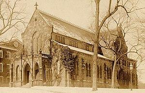 Kirkpatrick Chapel - Kirkpatrick Chapel, circa 1891, seen from the northeast