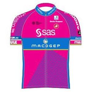 SAS–Macogep - Image: SAS Macogep jersey