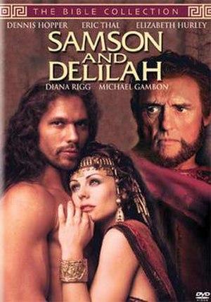 Samson and Delilah (1996 film) - dvd cover