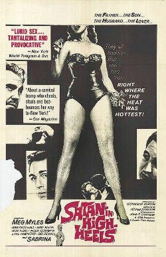 Satan in High Heels - Image: Satan In High Heels 1962 Poster