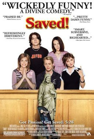 Saved! - Theatrical release poster
