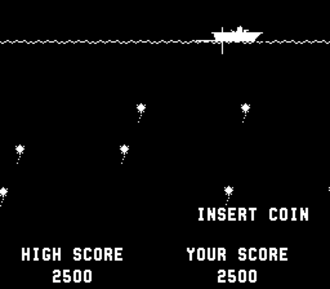"Score (game) - Sea Wolf, the first video game to use the term ""high score""."