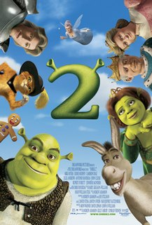 <i>Shrek 2</i> 2004 film directed by Andrew Adamson, Kelly Asbury and Conrad Vernon