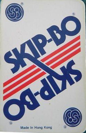 Skip-Bo - Image: Slip bo Card