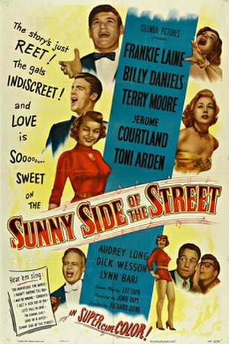 Sunny Side of the Street (film) - Theatrical release poster