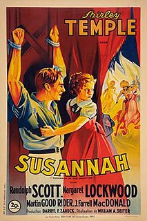 <i>Susannah of the Mounties</i> (film) 1939 film by William A. Seiter, Walter Lang