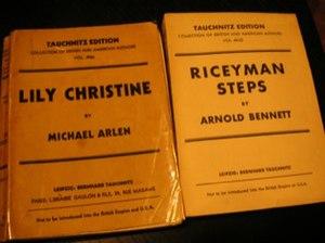 Tauchnitz publishers
