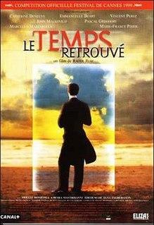 <i>Time Regained</i> (film) 1999 French film