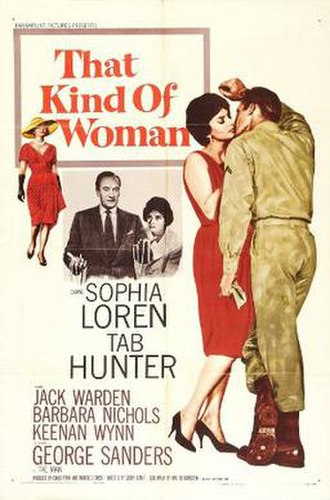That Kind of Woman - Image: That Kind of Woman film poster