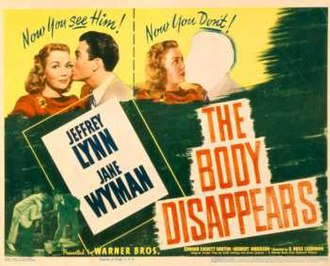 The Body Disappears - Lobby card