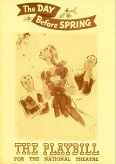 <i>The Day Before Spring</i> musical