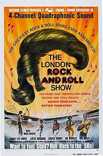 <i>The London Rock and Roll Show</i> (film) 1973 film by Peter Clifton