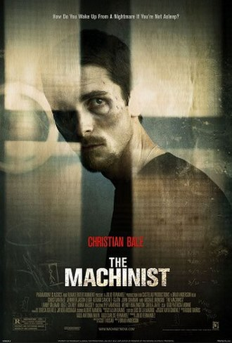 The Machinist - Image: The Machinist poster