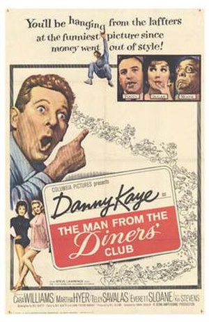 The Man from the Diners' Club - Theatrical release poster