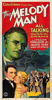 <i>The Melody Man</i> 1930 film