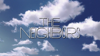 <i>The Neighbors</i> (2012 TV series) American television science fiction sitcom