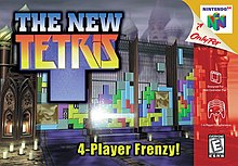 The New Tetris for N64, Front Cover.jpg