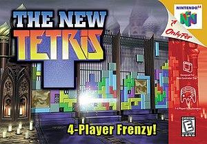 The New Tetris - North American box art