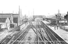 The Railway Station and Works, Panteg and Griffithstown, date unknown.