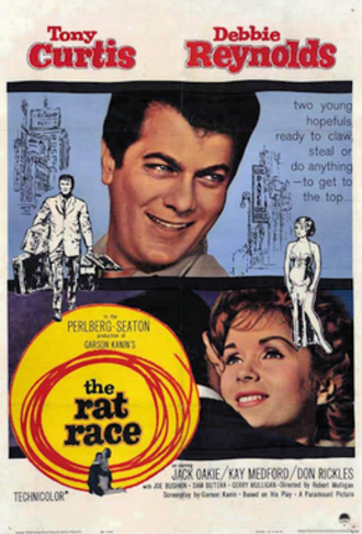 The Rat Race - 1960 theatrical poster