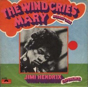 The Wind Cries Mary - Image: The Wind Cries Mary cover