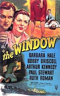 <i>The Window</i> (1949 film) 1949 film by Ted Tetzlaff