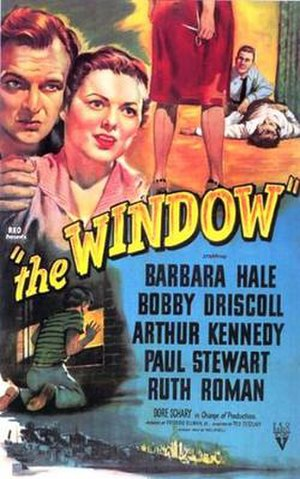 The Window (film) - Theatrical release poster