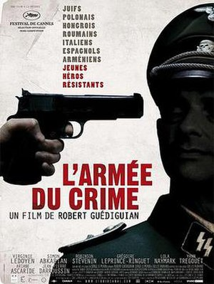The Army of Crime - 2009 poster advertising the French release